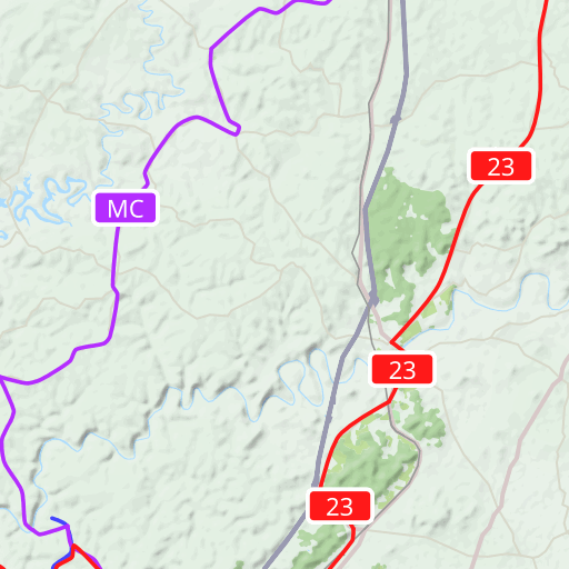 Larue County Kentucky USGS Topographic Maps on CD