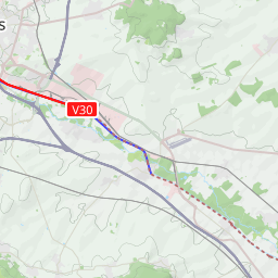 Interactive Map of Reims - Search Touristic Sights. Hiking and ...