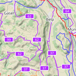 Interactive Map of Bern Search Touristic Sights Hiking and Biking