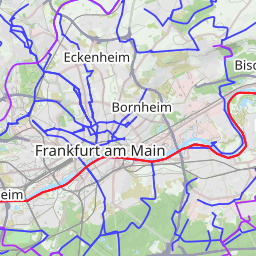 Interactive Map of Frankfurt am Main Search Touristic Sights