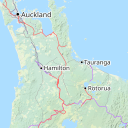 New Zealand Interactive Map.Interactive Map Of New Zealand Search Landmarks Hiking And