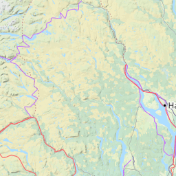Interactive Map of Norway Search Landmarks Hiking and Biking Routes