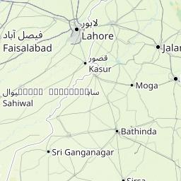 Interactive Map Of Pakistan Search Landmarks Hiking And Biking - Pakpattan map
