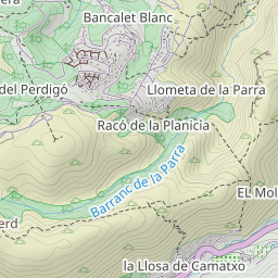 Map Of Spain Jalon.Viewranger Lliber Castell D Aixa Font D Aixa Hiking Route In