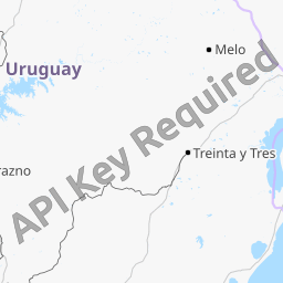 Interactive Map of Uruguay Search Landmarks Hiking and Biking Routes